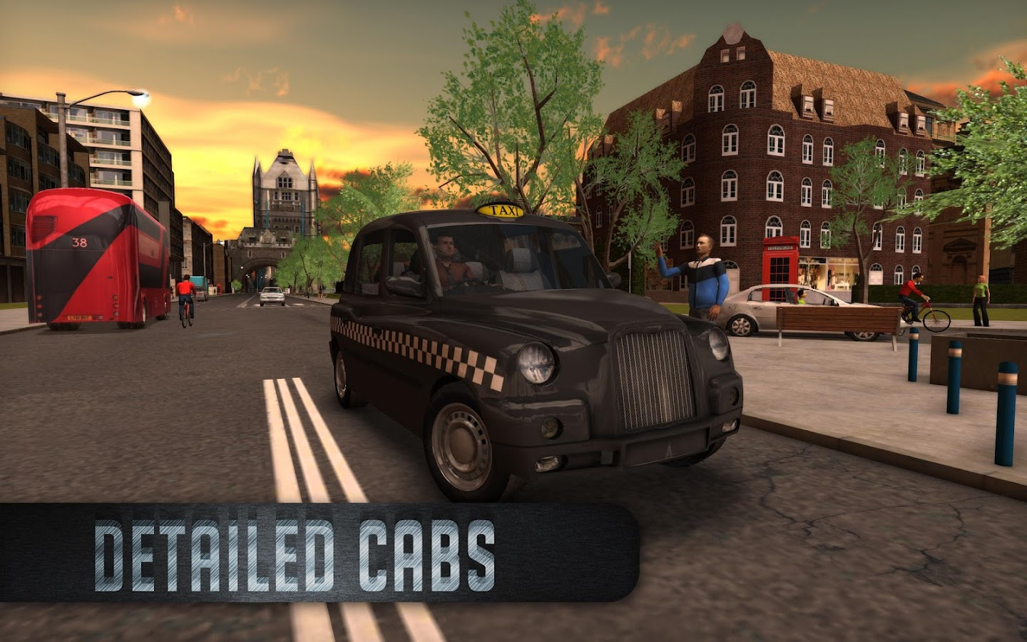 Taxi Sim 2016 Screenshot 1