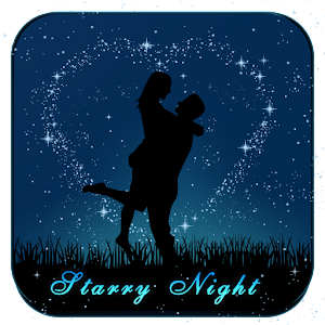 Starry Blue Love Night