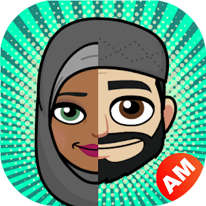 MusliMoji - Muslim Islamic Emoji Hijab Stickers Icon