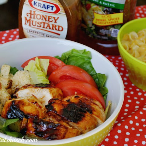Brown Sugar BBQ Chicken Salad