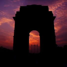 india gate by Shuja Mohammad - Buildings & Architecture Public & Historical