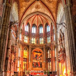 Basilica di Santa Maria Gloriosa dei Frari, Venice by Cristian Peša - Buildings & Architecture Places of Worship ( frari, santa maria gloriosa, church, venice, venice church, basilica )