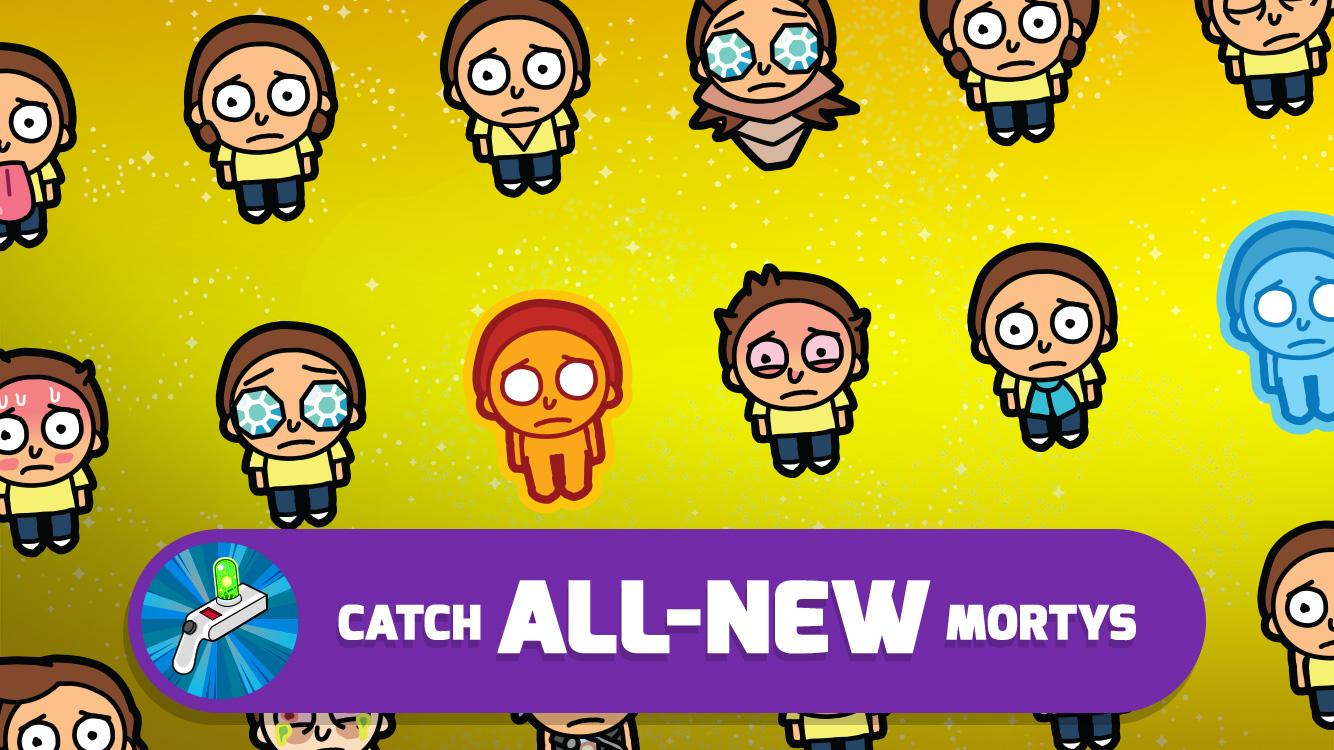 Pocket Mortys Screenshot 2