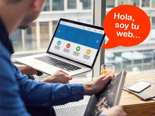 Páginas Web Conquista internet