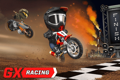 Game GX Racing APK for Kindle
