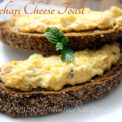 Achari Cheese Toast