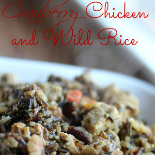 Cranberry Chicken and Wild Rice #Recipe