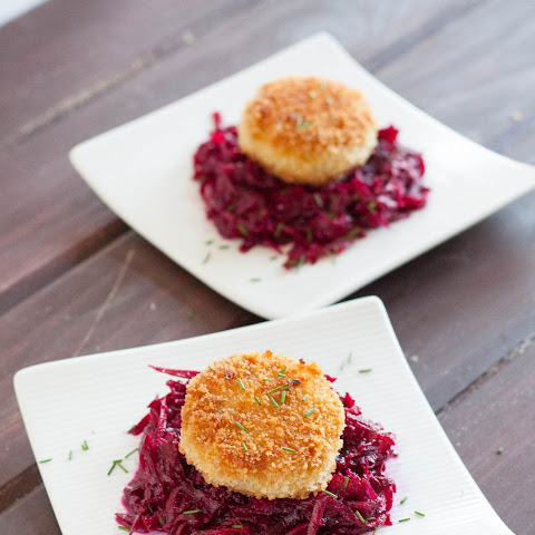 Vienna Sausage Croquettes and Beet Slaw