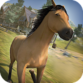 Game Free Wild Horses Simulator apk for kindle fire