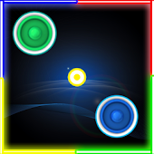 Download Air Hockey Glow In The Dark APK for Laptop