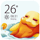 Free Cute weather forecast clock wi APK for Windows 8