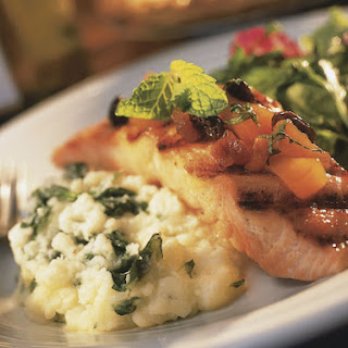 Salmon Spinach Mashed Potatoes Recipes