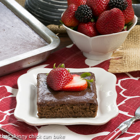 Chocolate Syrup Brownies #SundaySupper