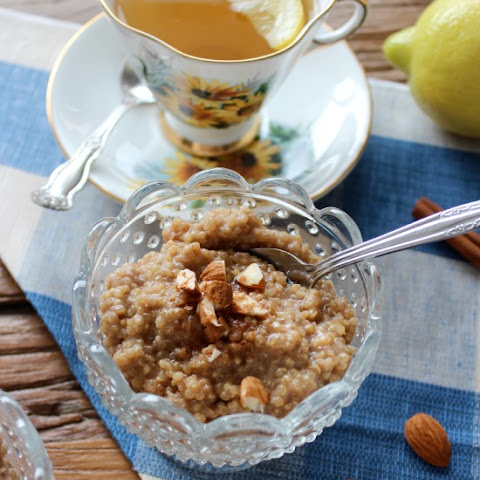 Coconut Quinoa Breakfast Pudding