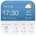 Download Alarm Clock Weather Widget APK on PC