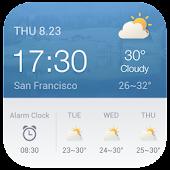 Alarm Clock Weather Widget APK for Bluestacks