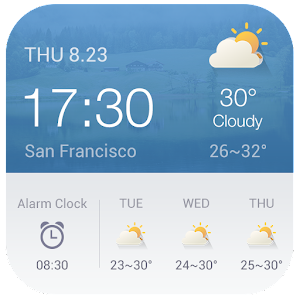 Download Alarm Clock Weather Widget For PC Windows and Mac