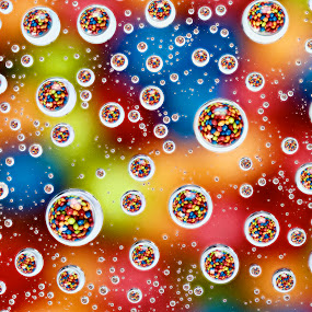 Skittle Drops by Kevin Miller - Food & Drink Candy & Dessert