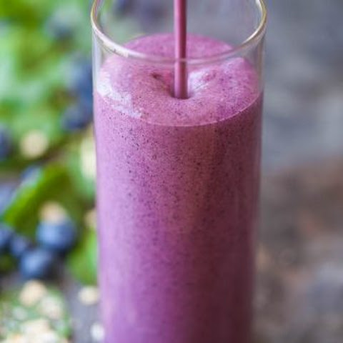 Protein Blueberry Kale Smoothie