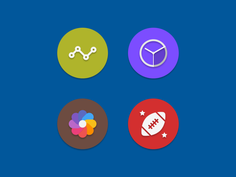 NAXOS FLAT ROUND - ICON PACK Screenshot 5