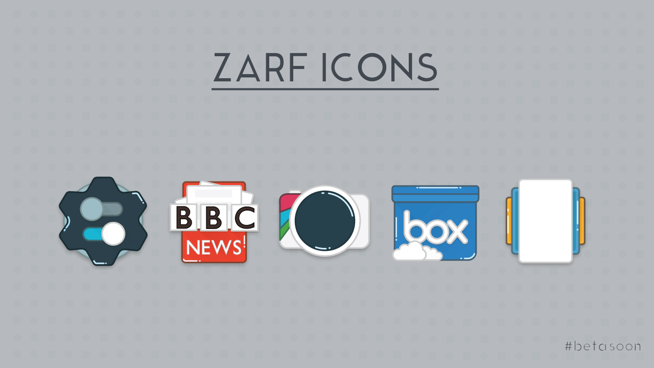Zarf - Icon Pack (SALE.!!) Screenshot 5