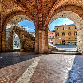 by Vito Masotino - City,  Street & Park  Historic Districts ( hdr, travel, medioevo, italy )