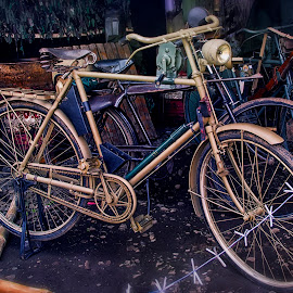 old bike by Iqbal Gautama - Transportation Bicycles ( canon, old, indonesia, transportation, antique, classic, bicycle )