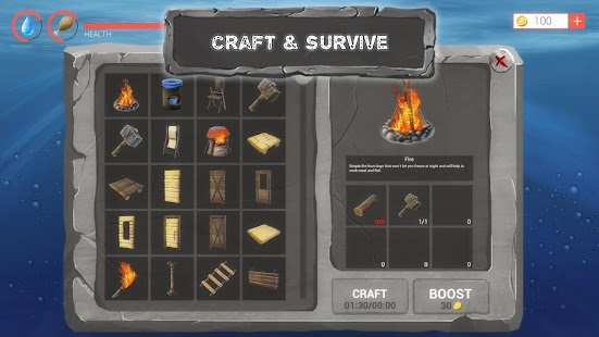 Raft Survival Ark Simulator