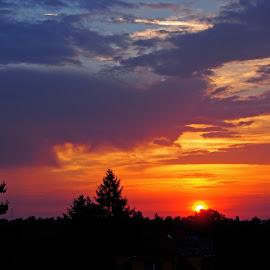 August morning by Michal Fokt - Landscapes Sunsets & Sunrises ( sunrise )