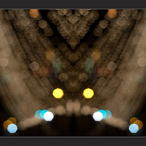 Festive Bokeh by Anupam Pal - Abstract Patterns ( festival )