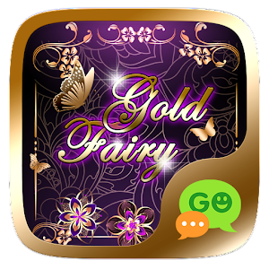 (FREE) GO SMS GOLD FAIRY THEME