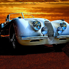 Ivan's Jag by JEFFREY LORBER - Transportation Automobiles ( jaguar, lorberphoto, rust 'n chrome, jag, jeffrey lorber )