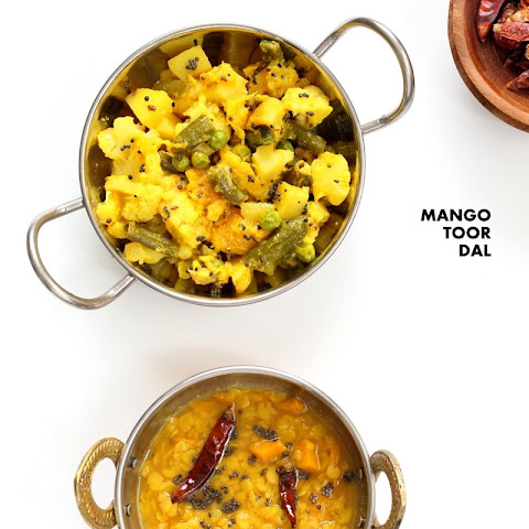 Mango Dal - Easy Toor Dal Soup with Mango