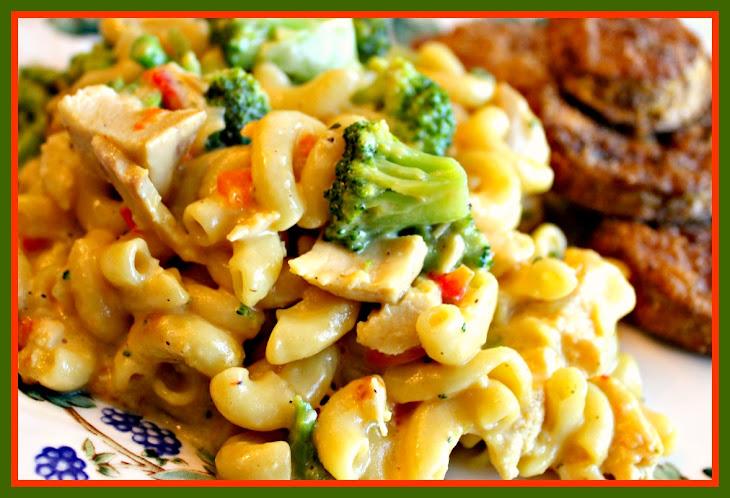 Broccoli Chicken Mac and Cheese! Recipe | Yummly