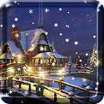 Snow Night Live Wallpaper HD Icon