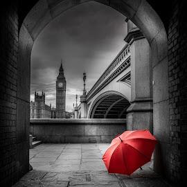Red by Selaru Ovidiu - Digital Art Places