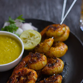The Best Tandoori Prawns