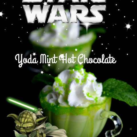 Starwars Yoda Mint Hot Chocolate