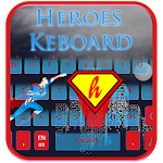 Flying Super Hero Keyboard Theme Icon