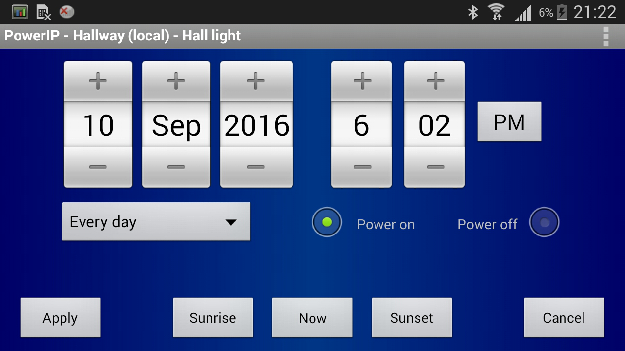 PowerIP (for Aviosys IP Power) Screenshot 10