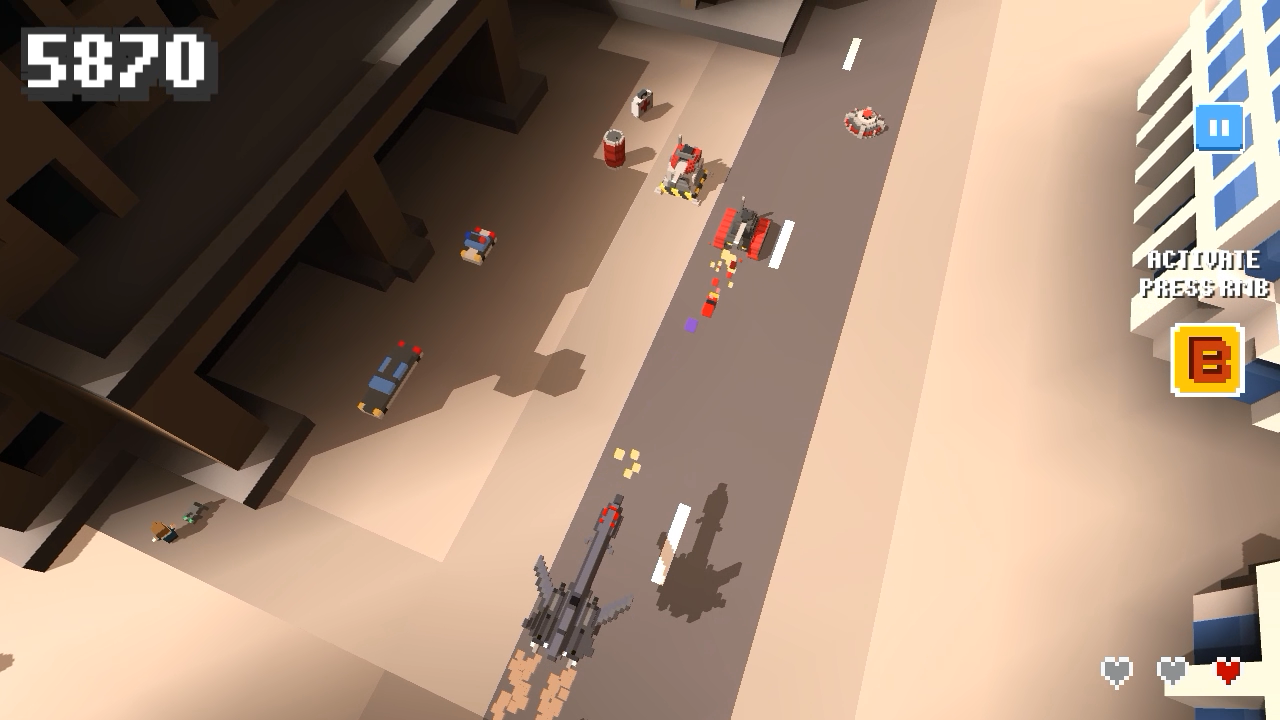 Operation Desert Road Screenshot 2