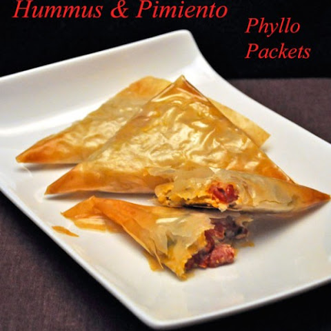 Hummus & Pimiento Phyllo Packets