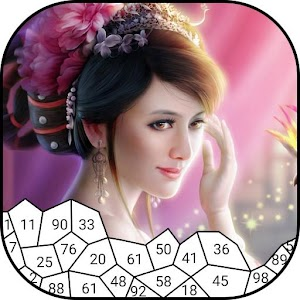 Princess Puzzle Drawing By Numbers For PC / Windows 7/8/10 / Mac – Free Download