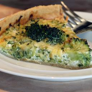 Courgette And Broccoli Quiche