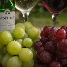 Wine and Grapes by Tracey Dolan - Food & Drink Alcohol & Drinks