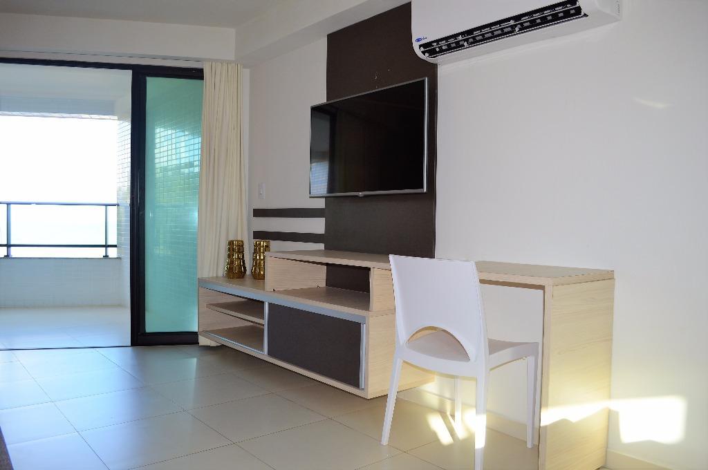 Flat residencial à venda, Tabatinga, Conde.