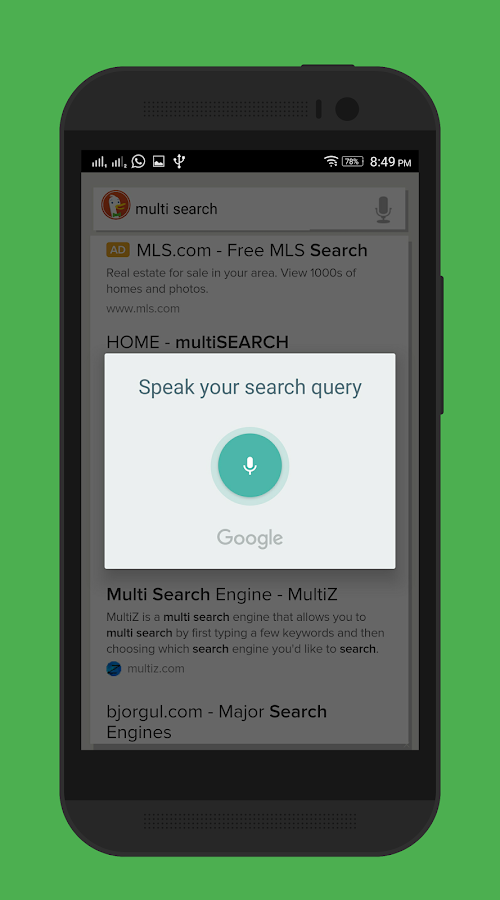 Multi Search - Alpha Screenshot 1