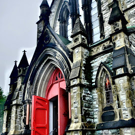Loyalist Red by Gary Ambessi - Buildings & Architecture Places of Worship