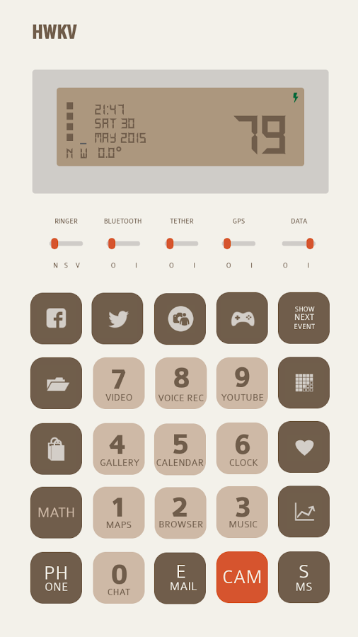 Calculator for Total Launcher Screenshot 0