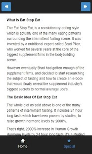 intermittent fast bodybuilding - screenshot
